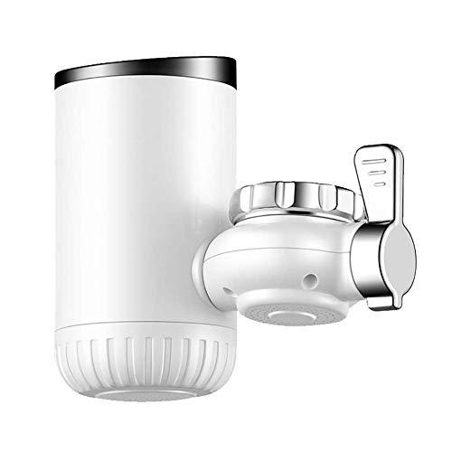ZNDDB elektrische Wasserhahn - Instant Küche heißer und kalter Warmwasserbereiter Hahn, freie Installation, 3s Heizung, 220V / 3300W