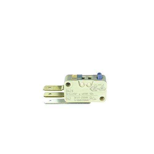Original Microrupteur Régulateur de niveau d'eau Blanc Lave-vaisselle Bosch/Siemens 165256