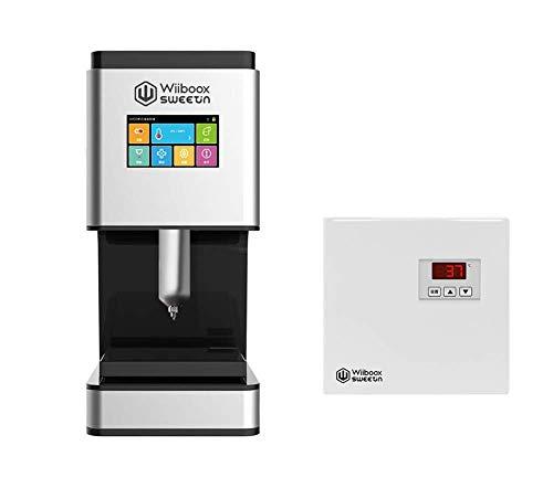 WiibooxSweetin Intelligenter Silber-Heimwerker 3D Desktop Lebensmittel Schokolade Drucker 30ml