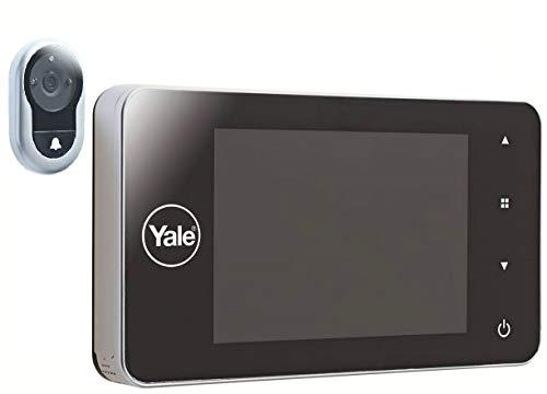 Yale 45-4500-1440-00-60-01Mirilla Digital 4500Memory +, Plateado