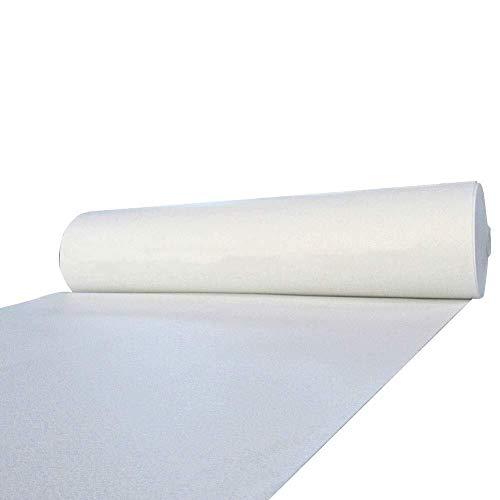 Lhl Weißer Teppich-Hochzeits-Gang-Läufer-dünne Wolldecke for Schritt-und Wiederholungs-Anzeige (Size : 1.5m*15m) - Gang Rot Hochzeit Läufer