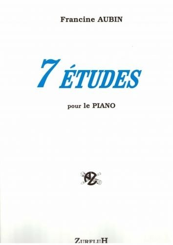 ROBERT MARTIN AUBIN F –SEPTIEMBRE ETUDES POUR PIANO CLASICA DE LA FRAGANCIA PIANO