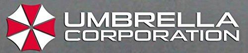 2 X UMBRELLA CORPORATION no.2 Resident Logo AUFKLEBER 12cm Kralle Claw Auto Tuning Styling Motorrad