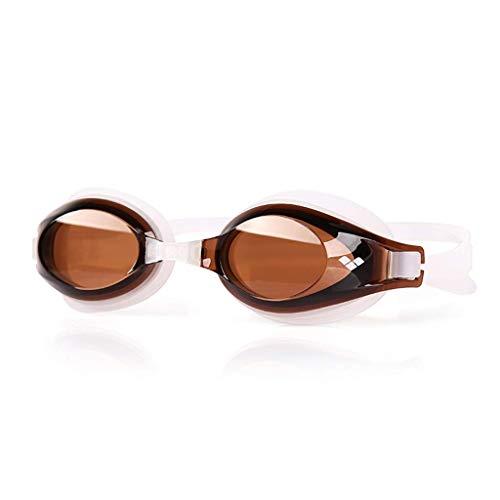 WENYAO Schutzbrillen, HD Anti-Fog Big Box Schwimmbrille für Männer und Frauen Professionelle Schwimmbrille HD Anti-Fog wasserdicht, eine Vielzahl von Farboptionen