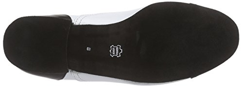 Diamant 077-025-027, Chaussures de Danse de Salon Homme, Schwarz/Weiß Mehrfarbig (Schwarz/Weiß)