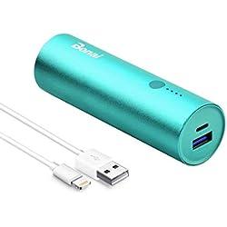 BONAI Ultra-léger Batterie Externe Portable 5800mAh Mini Chargeur Haute Vitesse Power Bank pour Smartphones iPhone X/6/7/8plus iPad Samsung Galaxy S8/9/Note9 Huawei Sony et Tablettes