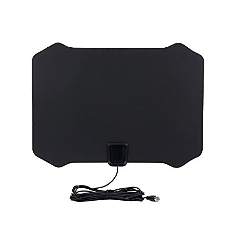 DealMux Amplified HDTV Antenna - 50 Mile Range with Detachable