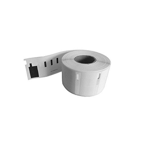 10 x 11353 / S0722530 12mm x 24mm Vielzweck-Etiketten (1000 Stück/Rolle) für Dymo LabelWriter & Seiko Etikettendrucker