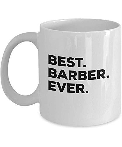 Regalos del peluquero - La mejor taza del peluquero - Taza de café - Para los peluqueros - Peluquería - Tienda - Por su novia o cliente Hombres Mujeres 11 oz