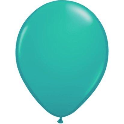 3 Stück Runde Counter - partydiscount24 Riesenballons Türkis Ø 40 cm