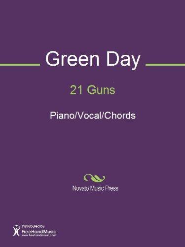 21 Guns Sheet Music Pianovocalchords Ebook Billie Joe Armstrong