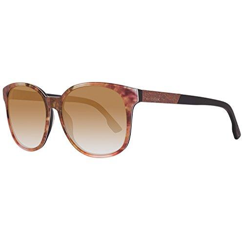 Diesel sonnenbrille dl0121 5847f occhiali da sole, multicolore (mehrfarbig), 58 donna