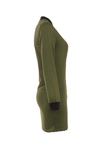 Manches longues veste manteau Casual de Wonem green