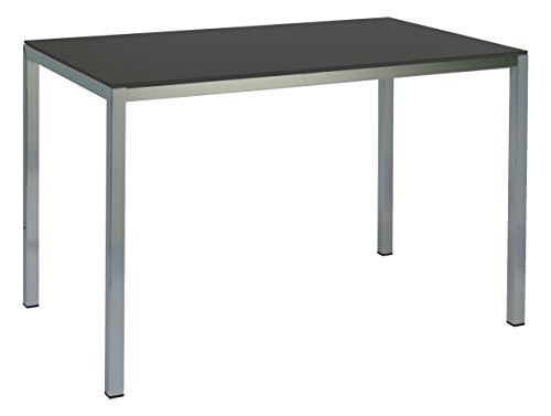 EUROSILLA Manhattan Table Basse 40 x 50 x 66 cm Noir
