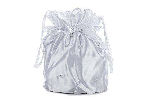 Frühlings-SALE! Brauttasche Abendtasche festliche Tasche Weiß