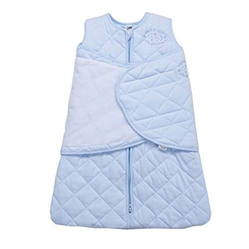 Baby-Wickeldecke, Neugeborenenschlafsack, luxuriös, weich und seidig, 100% Baumwolle, Länge verstellbar, 58,5-70,5 cm, Baby-Mädchen-Stillbezug, für Kleinkinder zwischen 3 und 6 Monaten, 1,5 Tog -