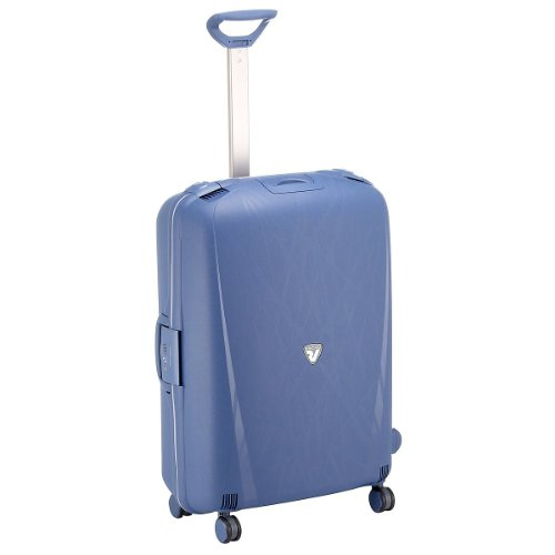 Roncato Light 4-Rollen-Trolley 75 cm, blu avio