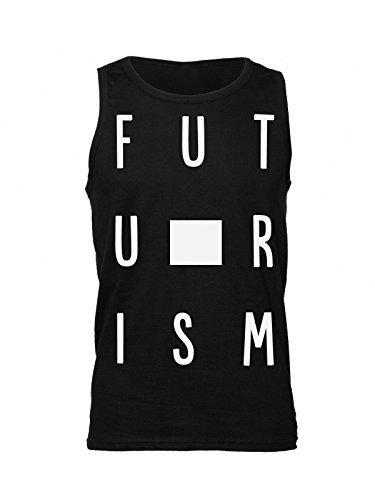 Finest Prints Futurism Futuristic Art Figures Men's Tank Top Shirt