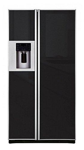 iomabe ORE 24 GF KB GB/Stand-alone 572L A+ Schwarz Kühlschranktür Seite - ide-by-Side-Kühlschrank (integriert/unabhängig, schwarz, amerikanische Tür, 572 L, T)