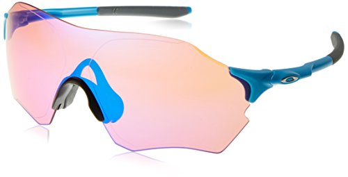 Oakley Evzero Range 932704 0, Occhiali da Sole Uomo, Rosso (Infrared/Prizmroad), 1