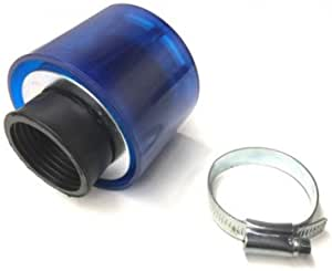 Tuning Sport Luftfilter Blau Rund 32mm Für Roller Scooter Auto