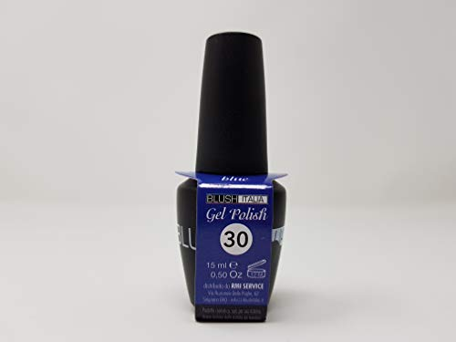 Gel Polish 15 ml semipermanenti Blush Italie 96 couleurs ultra coprenza maximale durée (30 – Blue)