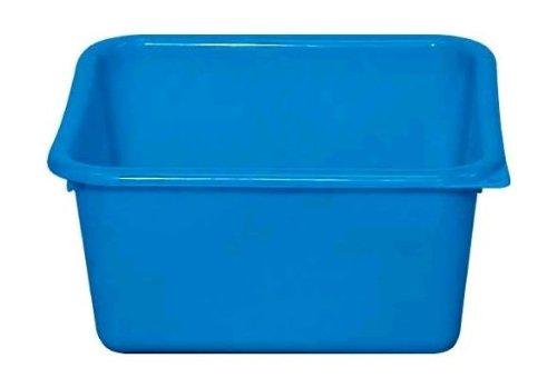 ALUMINIUM ET PLASTIQUE Cuvette carrée 5,5 L bleu - CC29 B