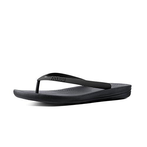 Fitflop Men's Iqushion Ergonomic Flip-Flops Open Toe Sandals