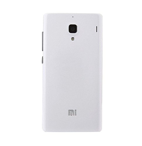 Bright Replacement Battery Back Door Cover Panel for Xiaomi Redmi 1S / Redmi Mi 1S - White