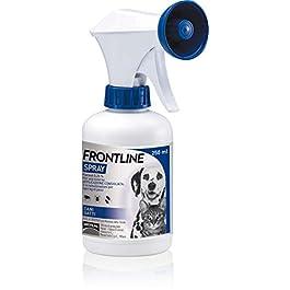 Frontline   Spray Cani e Gatti   Trattamento e prevenzione delle infestazioni da zecche, da pulci e da pidocchi   confezione da 250 ml