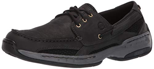 New Balance Dunham Herren Captain Boat Shoe, Black, 52 4E EU (Dunham New Balance)