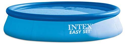 Intex Piscina Easy con Pompa e Filtro, PVC, Blu, 396 x 84 cm