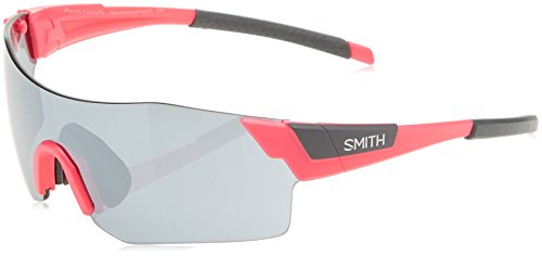 Smith Pivlock Arena/N Xb 67T, Gafas de Sol Unisex Adulto, Rosa (Pink Fluo/SIL Grey Speckled CP), 99
