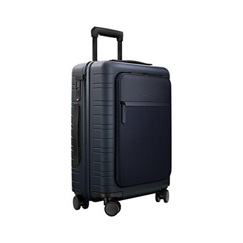 HORIZN STUDIOS Travel Set | M5 Handgepäck & H6 Check-In Reisekoffer (M) | 2 TLG. Hartschalenkoffer Trolley Set, Dunkelblau (Night Blue) - 4
