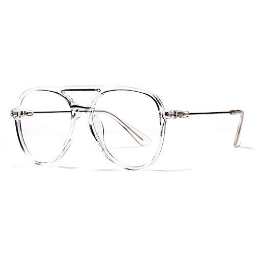 YMTP Große Gläser Frames Mens Transparente Brillen Rahmen Für Frauen Klassische Optische Rahmen, Klar