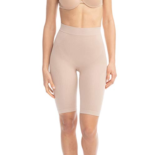 Farmacell 312 (Meat, L / XL) Girdle shaping and containment with massager and anti-cellulite effect