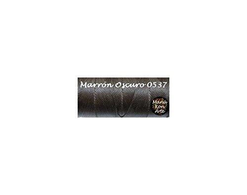 15-mts-hilo-encerado-1-mm-marron-oscuro-nylon-pulseras-abalorios-macrame-thread