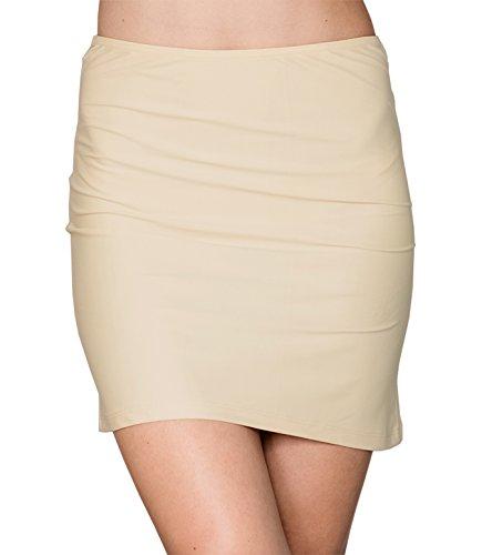 kefali-damen-unterrock-jupon-halbrock-underskirt-micropolyester-antistatisch-36-s-beige
