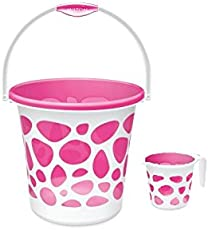 Milton Duplex Bucket and Mug, 25 L (Pink)