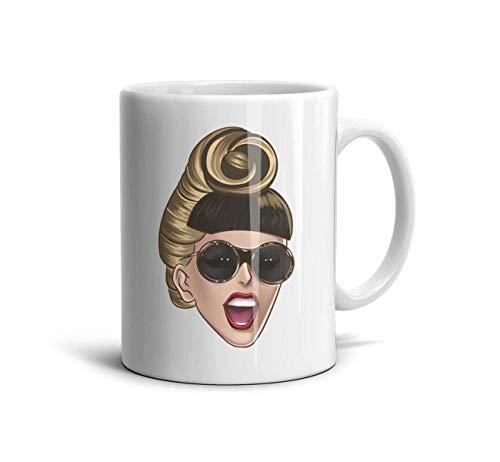 White Ceramic Coffee Mug 11 oz Music Fan Funny Design Daily Use Gift Souvenir Tea Mugs Cup,White-84,One Size - Beste Maker Iced Tea
