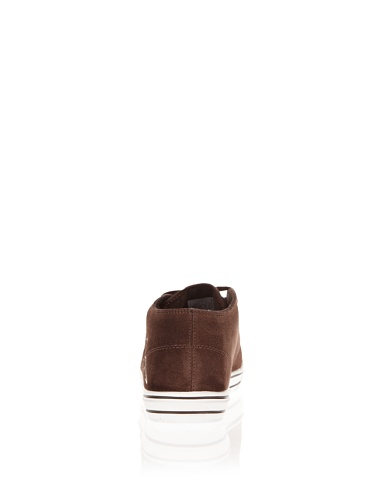 Kappa Handle 241471 Sneaker Leder Dunkelbraun