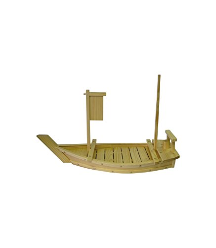 Barca per sushi in legno - 50 cm