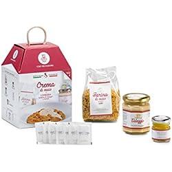 CREMA DE MAÍZ CON QUESO TALEGGIO Y TRUFA My Cooking Box x4 Porciones - Regalo de Navidad
