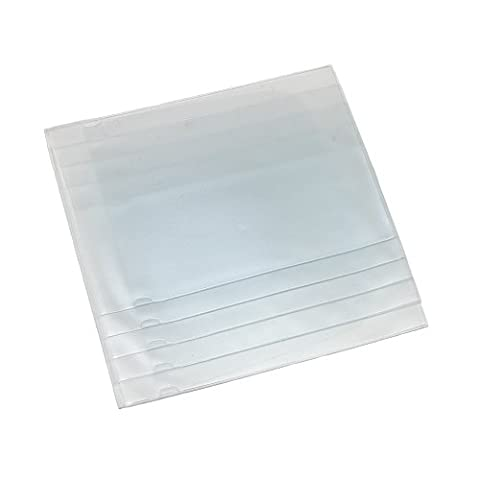 Buxton-empilable en vinyle pour fenêtre pour carte de crédit et Hipster portefeuille Transparent