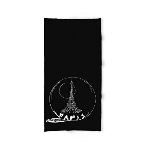 But why miss Paris In A Glass Ball Bath Towel 31.5