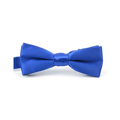 FH Solid Color Dress Bow Herren Hochzeit Bräutigam Groomsman Bow Trend Hosted Schmale Fliege (Farbe : Royal Blue) - Royal Blue Bowties