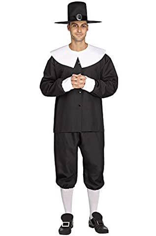 Fun World American Pilgrim Man Adult Costume