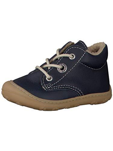RICOSTA Pepino Unisex - Kinder Winterstiefel CORANY, WMS: Mittel, Freizeit leger Winter-Boots Outdoor-Kinderschuhe warm Kids,Nautic,19 EU / 3 UK