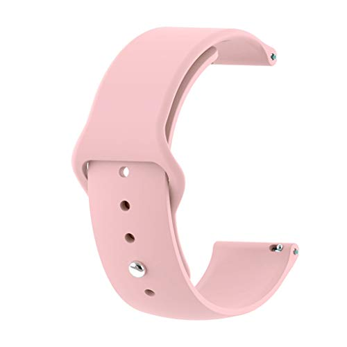 Fitness Uhr Ersatz Uhrenarmband Handschlaufe Fitnessarmband Wechselarmband Für Huawei Uhr GT Smart Watch 22mm (Rosa) ()
