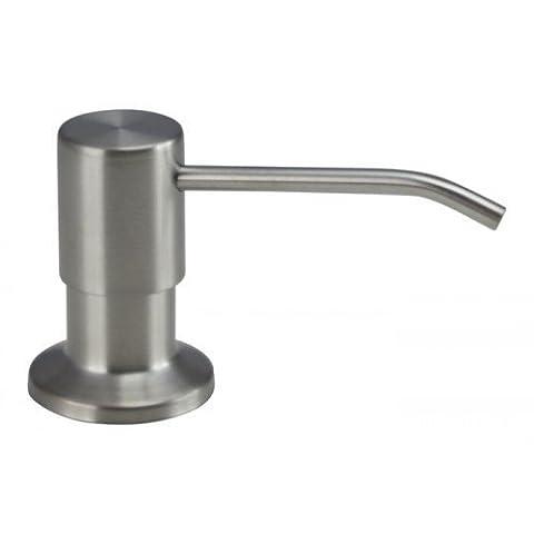 Pompe à savon/ distributeur de savon Mizzo Mato - distributeur de désinfectant mato - en acier inoxydable - à capteur pour savon 300ml - distributeurs de savon liquide et de lotion - inox brossé